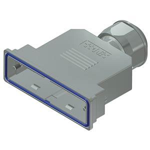 D-Sub-Haube, 50-pol, Kunststoff metallisiert CONEC 15-004850