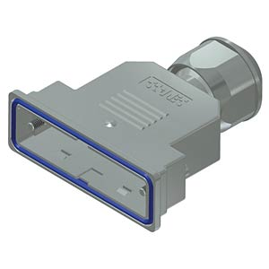 D-Sub-Haube, 25-pol, Kunststoff metallisiert CONEC 15-004830