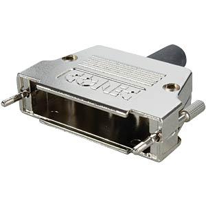 D-SUB-Hood f. 50-pin D-Sub, metal, straight CONEC 165X17349XE