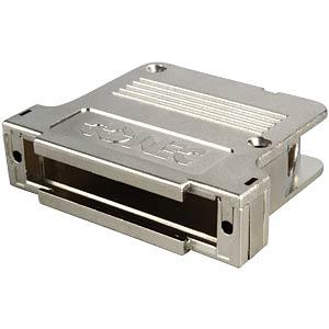 D-SUB-Kappe f. 37-polig D-Sub, metall, groß, stl. CONEC 165X13549XE