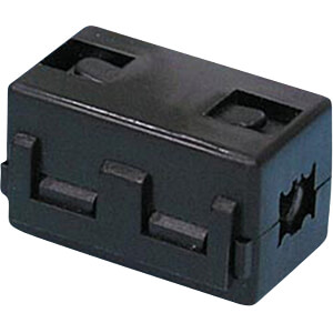 Split Ferrite for round cable, Ø to 10 mm, square RND COMPONENTS RND 165-00009