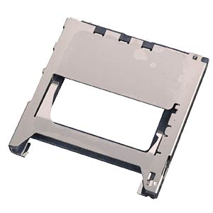 MMC- und SD-Card Connector, 9pol., mit Schirm YAMAICHI