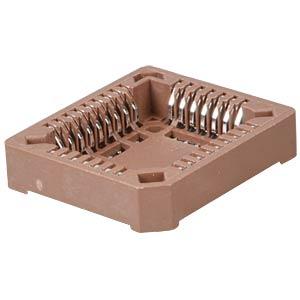 IC socket, 32-pin, SMD-PLCC FREI