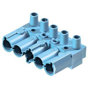 Stecker - 5-polig, blau, Schraubanschluss WIELAND 92.052.3753.0