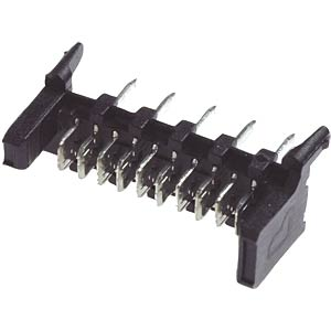 Micromodul-Messerleiste, RM 1,27/2,54, 6-polig LUMBERG