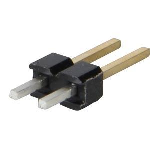 Stiftleisten 2,54 mm, 1X02, gerade MPE-GARRY 087-1-002-0-S-XS0-1260
