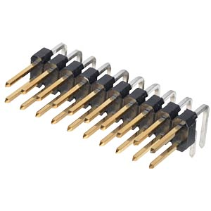 Pin headers 2.54 mm, 2X10, angled MPE-GARRY 088-2-020-0-S-XS0-1080