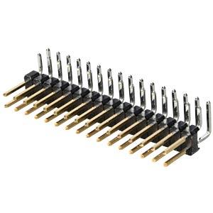 Stiftleisten 2,54 mm, 2X16, gewinkelt MPE-GARRY 088-2-032-0-S-XS0-1080