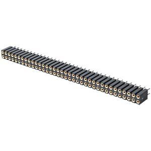 Präz.-Buchsenleisten 2,54 mm, 2X36, gerade MPE-GARRY 115-3-072-0-MTF-XS0