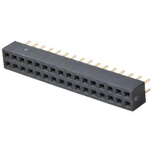 Buchsenleisten 2,00 mm, 2X16, gerade MPE-GARRY 156-3-032-0-NFX-YS0