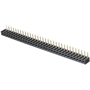 Sockets 2.00 mm, 1X32, angled MPE-GARRY 159-1-032-0-NFX-YS0