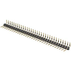Pin headers 2.00 mm, 1X32, angled MPE-GARRY 332-1-032-0-F-XS0-0700