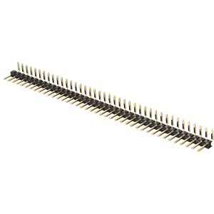 Pin headers 2.00 mm, 1X40, angled MPE-GARRY 332-1-040-0-F-XS0-0700