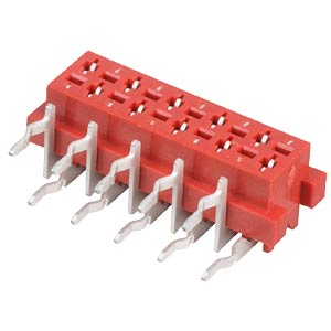 Sockets Micro Match 1.27 mm, 2X05, angled MPE-GARRY 369-3-010-0-NTX-KT0