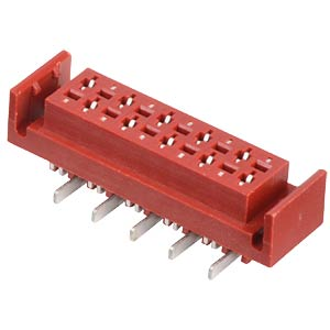 Sockets Micro Match SMD 1.27 mm, 2X08, L MPE-GARRY 374-2-016-0-NTX-KT0