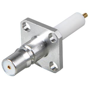 QMA-Receplacle Jack, Flange, straight RADIALL R123 415 000