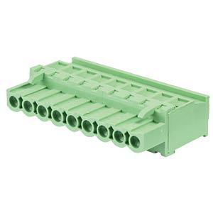 Steckbare Schraubklemme - 9-pol, RM 5 mm, 90° RND CONNECT RND 205-00349