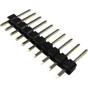 RND 205-00631 - RND Stiftleiste, 10-pol, RM 2,54 mm
