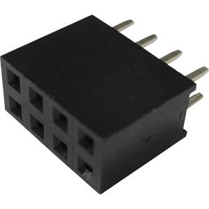 RND Buchsenleiste, 8-pol, RM 2,54 mm RND CONNECT RND 205-00653