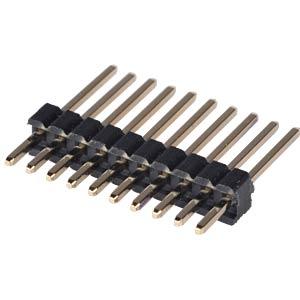 10pol.-Stiftleiste, gerade, RM 1,27 MPE-GARRY 659-1-010-0-F-XS0-1030