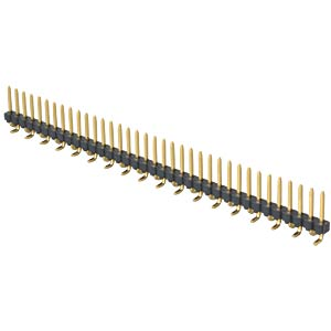 36-pin SMD header, straight, pitch 2.54 FREI
