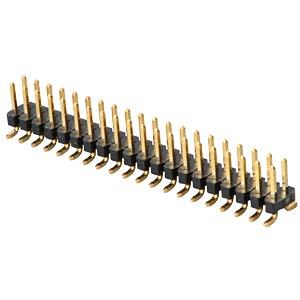 2 x 20-pin SMD header, straight, pitch 2.00 FREI