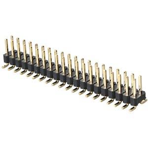 2x20pol.-SMD-Stiftleiste, gerade, RM 2,54 FREI
