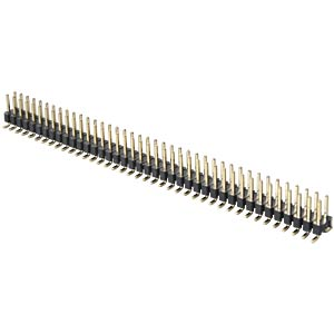 2 x 40-pin SMD header, straight, pitch 2.54 FREI