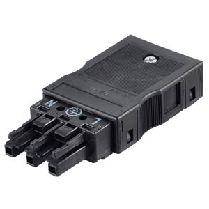 WINSTA® MIDI, 3-pin female connector, with strain relief housing WAGO 770-103