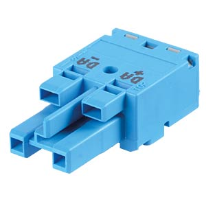 WINSTA® MIDI, two-pin socket, without strain relief housing WAGO 770-1102