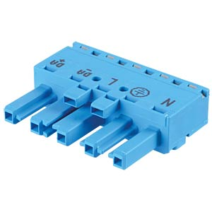 WINSTA® MIDI, five-pin socket, without strain relief housing WAGO 770-1105