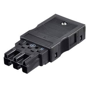 WINSTA® MIDI, Stecker 3-pol, mit Zugentlastungsgehäuse WAGO 770-113