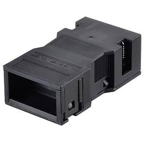 WINSTA® MIDI, 2-pol, Zugentlastungsgehäuse, schwarz WAGO 770-502/042-000
