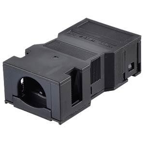 WINSTA® MIDI, two-pin, strain relief housing, black WAGO 770-502/042-000