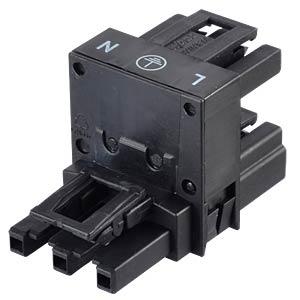 WINSTA® MIDI, H-Verteiler 3-pol, 1xStecker / 2xBuchse WAGO 770-635