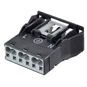 WINSTA® MIDI, 3-pin female connector, snap-in WAGO 770-703
