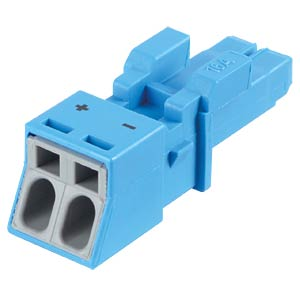 WINSTA® MINI, two-pin socket, without strain relief housing WAGO 890-1102