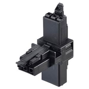 WINSTA® MINI, 3-pin T-splitter, 1x plug/2x female connector WAGO 890-615
