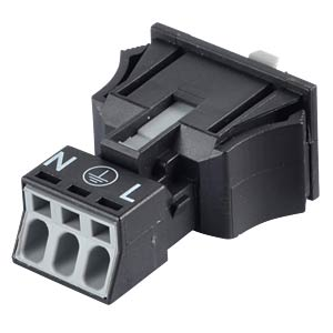 WINSTA® MINI, 3-pin plug, snap-in WAGO 890-713