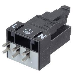 Mini PCB jack, for perfboard, straight, 3-pole WAGO 890-803
