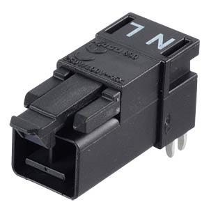 Mini PCB plug, for perfboard, angled, 2-pole WAGO 890-812/011-000