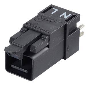 Mini PCB Stecker, für Leiterplatten, 2-pol, gerade WAGO 890-812