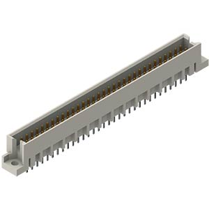 Male Type Q, 64 pin, 4 mm, solder EPT 119-40074
