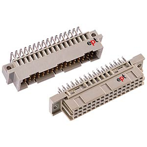 Female Type C, 96 pin, 4,6 mm, THTR EPT 304-40064-02TH
