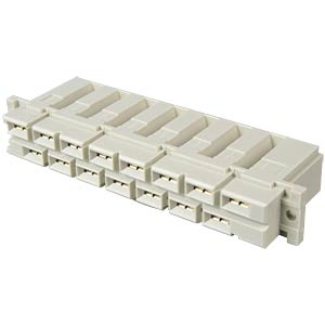 Female multipoint connector 15 high-current contacts, flat conne EPT 114-40060