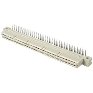 Female multipoint connector 64-pin, angled, A-B ERNI 294721