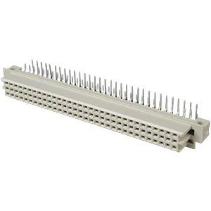 Federleiste 64-pol, gewinkelt, A-C EPT 116-40054