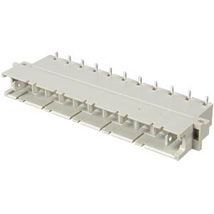 Multipoint plug 11 high-current contacts ERNI 233235