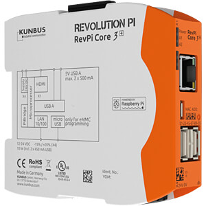 Revolution Pi Core 3+, 32 GB KUNBUS PR100301