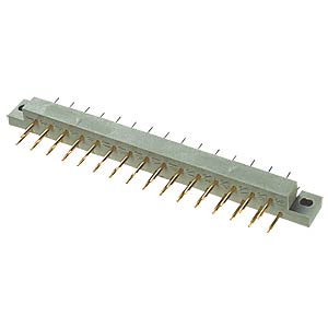 Pin header, 31-pin, DIN 41617, PCB, straight FREI